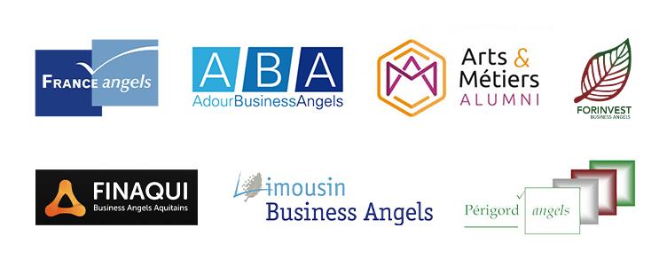 France Angel - Adour Business Angels - Arts & Métiers Alumni - Forinvest - Finaqui - Limousin business angel - Périgord angels